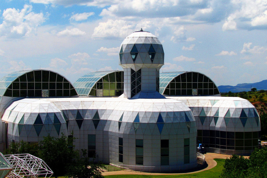 beautiful places, biosphere 2