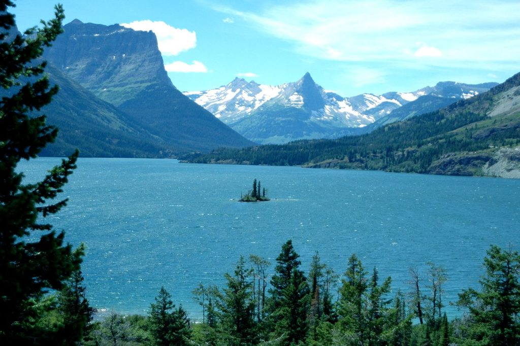 beautiful places, glacier national park