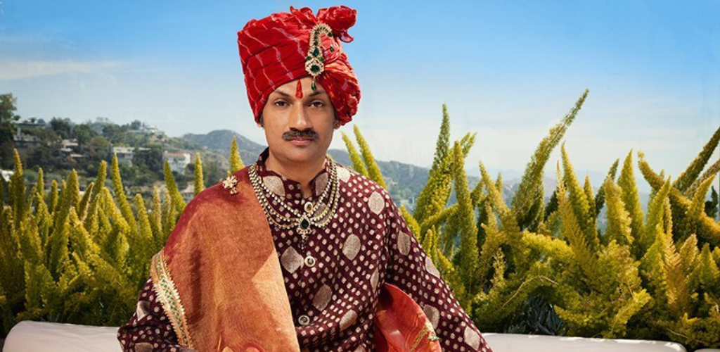 India's only gay prince, Manvendra Singh Gohil.