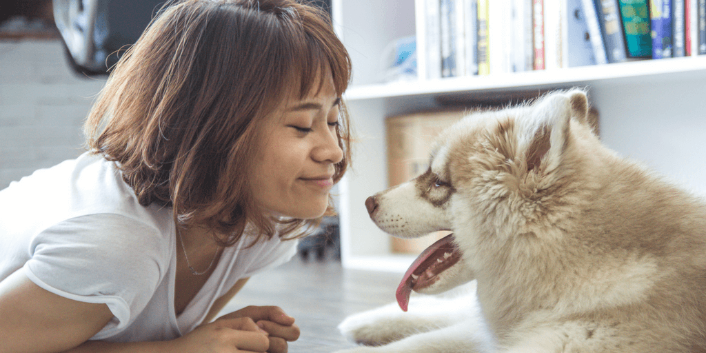 I suffered from terrible germaphobia until I got a dog