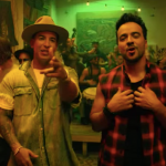 Luis Fonsi and Daddy Yankee singing in Despacito music video.