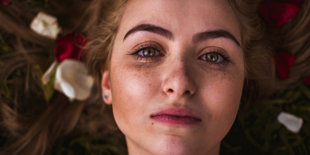 This is every perfect skincare model you've ever secretly loved and hated all at once