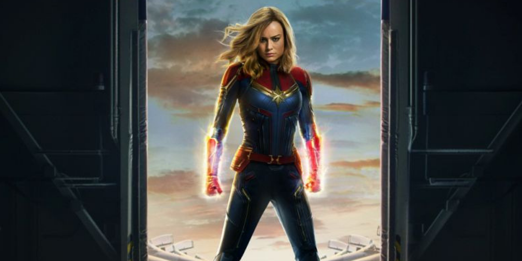 [Image Description: Brie Larson as Carol Danvers, Captain Marvel]