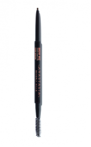 [Image description: Anastasia Beverly Hills Brow Wiz with a spooly and brow pencil on either end on a white background] via anastasiabeverlyhills.com
