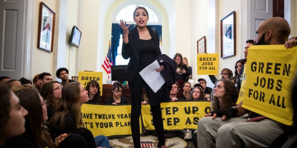Congresswoman Alexandria Ocasio-Cortez will pay her interns