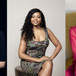 Profiles of (L to R) Emma Stone, Taraji P. Henson, and Selena Gomez, all who have spoken publicly about their mental health.