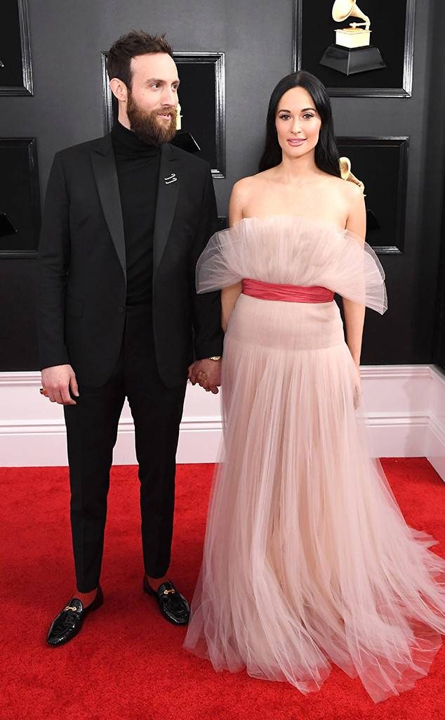 Kacey Musgraves and Ruston Kelly at the 2019 Grammy Awards