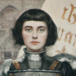 [Image Description: A painting of a woman with short hair in armor. ] Via Wikipedia