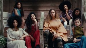 Image from Lemonade of 7 iconic black women creatives.