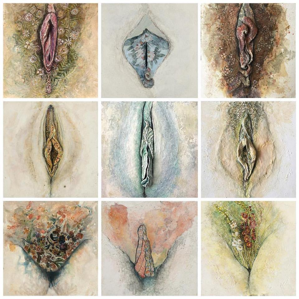 Custom Abstract Vulva
