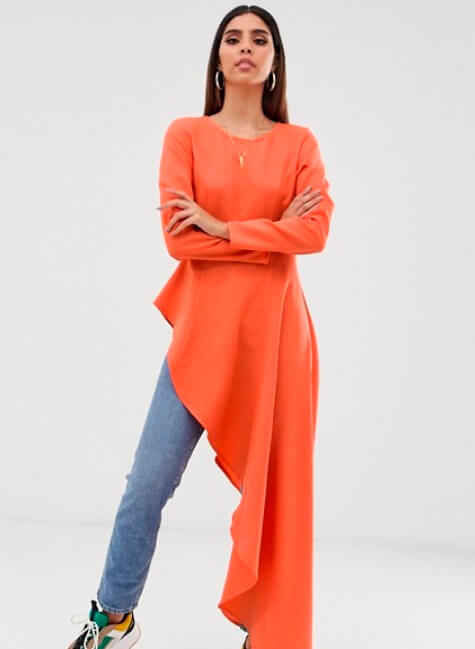 [Image Description: Woman stands in a Verona x ASOS piece.] via ASOS.com