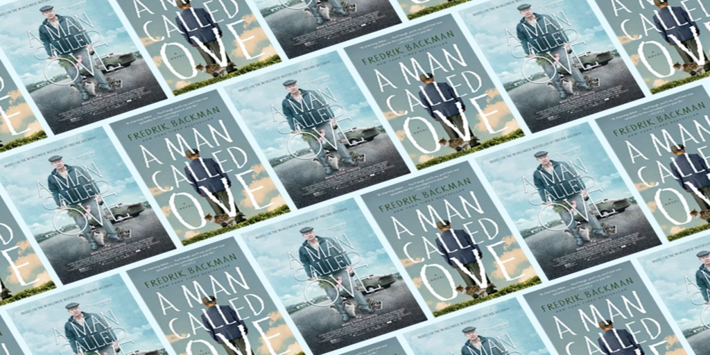 [image description: A grid of the book cover of A Man Called Ove]