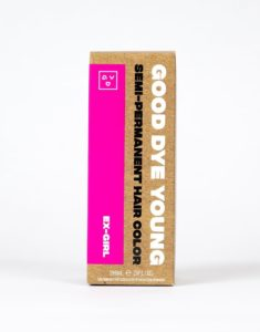 [Image description: Box of Good Dye Young in Ex-Girl.] Via Good Dye Young.