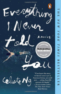 Book cover of Everything I Never Told You.