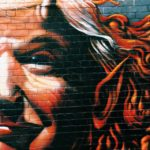 [Image Description: A mural of Donald Trump made to look like a devil] via Jon Tyson on Unsplash.