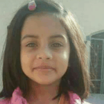 A little girl by the name of Zainab Ansari is smiling into the camera moments before her death