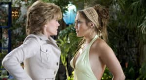 A scene from the popular Hollywood movie, Monster-in-law
