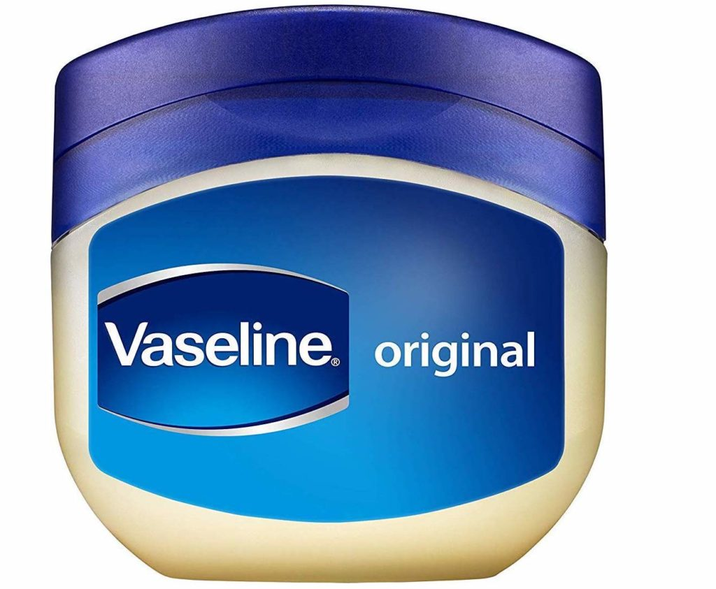 Vaseline petroleum jelly tub