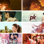 A collage of posters of few of the best Bollywood movies in the last decade.