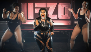 Newsflash: if you're mad at Lizzo for her outfit choices, you're fatphobic