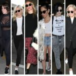 Various female celebrities pictured at airports.