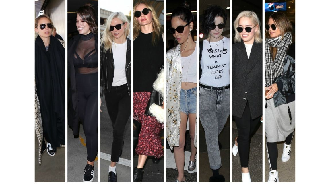 Celebrities swear by a good airport outfit – here's how to create your own