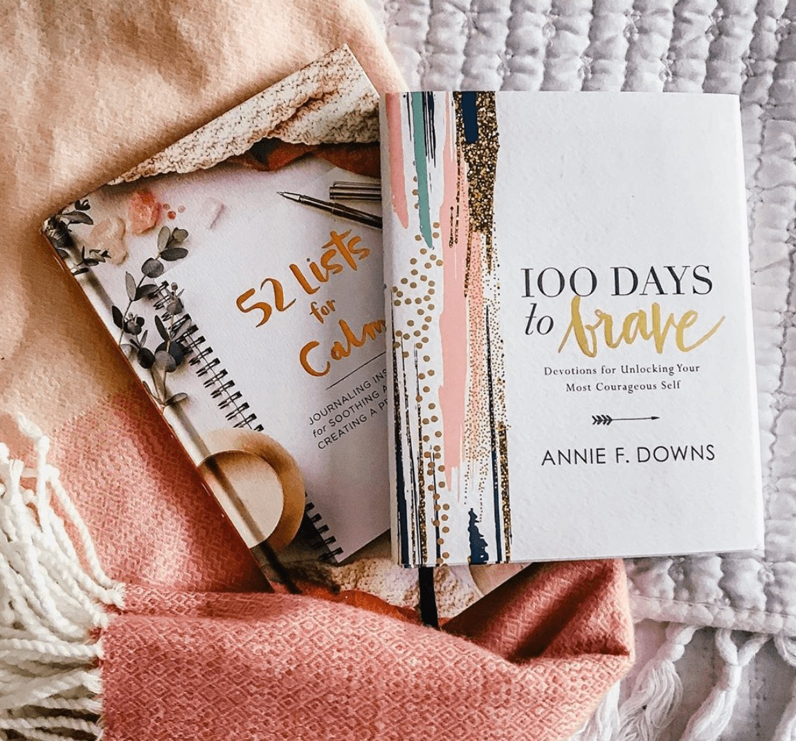 100 Days to Brave by Annie F. Downs.