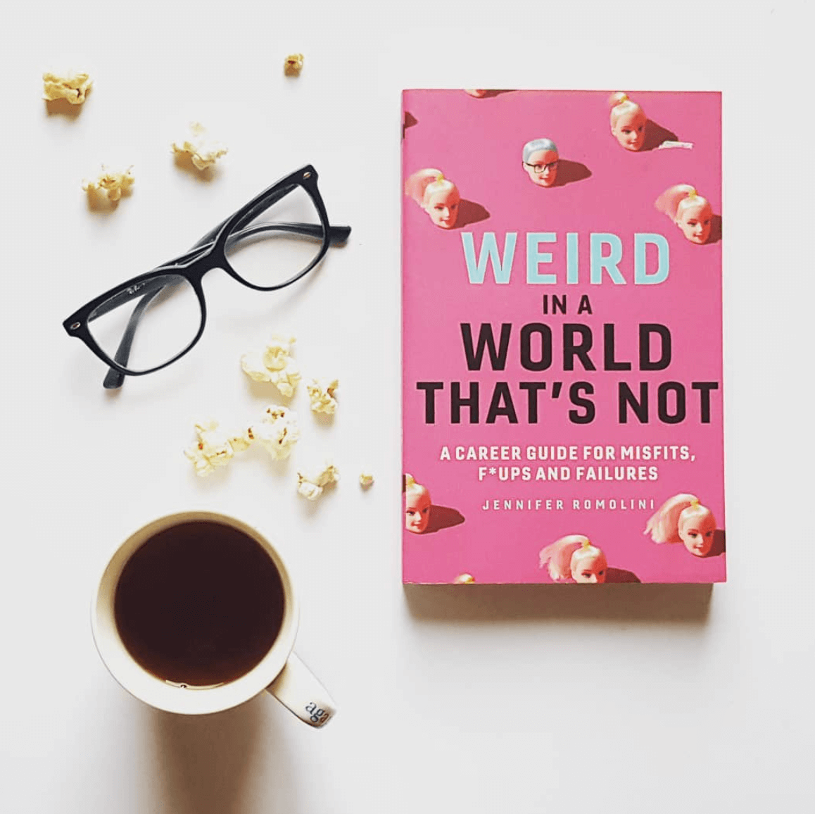 Weird in a World That's Not by Jennifer Romolini.