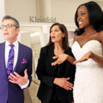 Randy and another bridal consultant talk to a bride trying on a wedding dress in the Kleinfeld store on the show 'Say Yes to the Dress'.