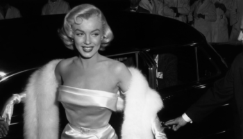 Marilyn Monroe and fashion as a shield