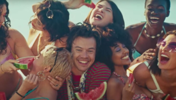Harry Styles' new music video is about oral sex and we're loving it