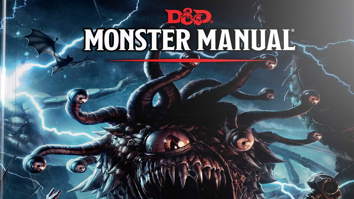 [Image description: Dungeon & Dragons' Monster Manual.] Via Gygax.