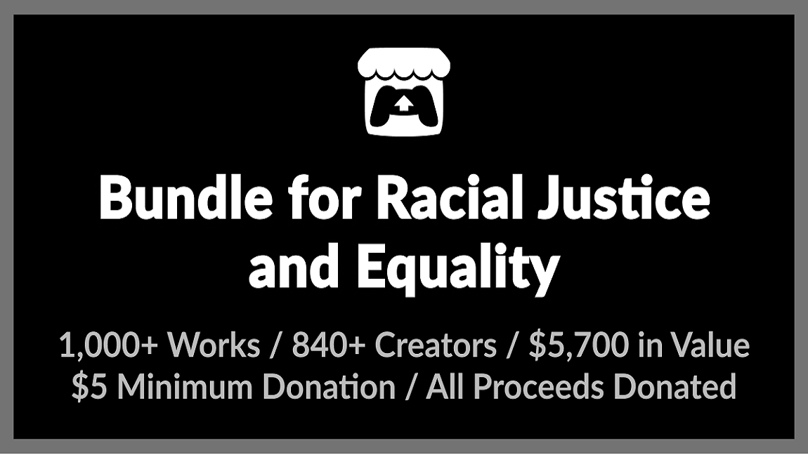 A collection of games and assets by indie developers in solidarity with BLM raised $8 million.