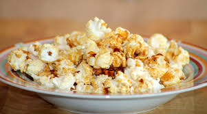 Kettlecorn in a dish