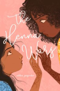 [Image Description: Book cover of The Henna Wars, two girls with henna reaching their hands out to each other.] Via Twitter