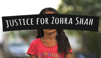 I want you to remember Zohra Shah