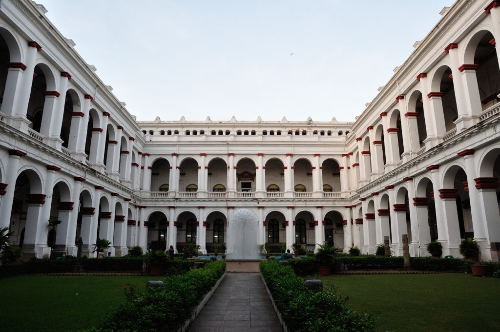 A picture of the Indian museum.