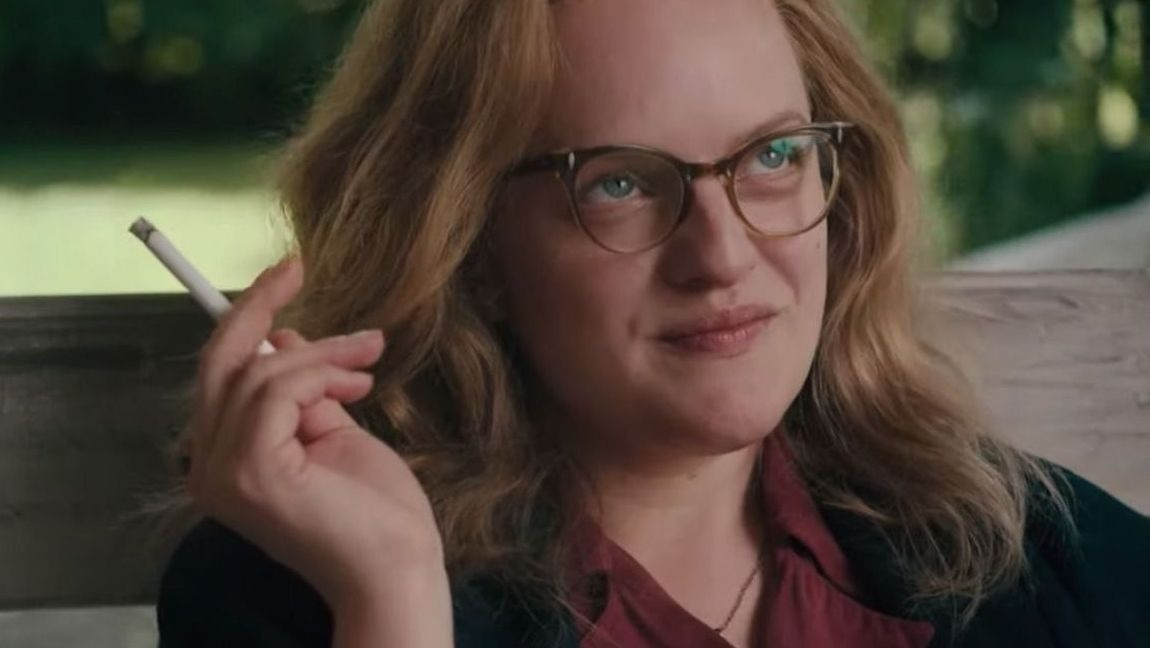 [Image description: Elisabeth Moss as Shirley Jackson.] via IMDB.