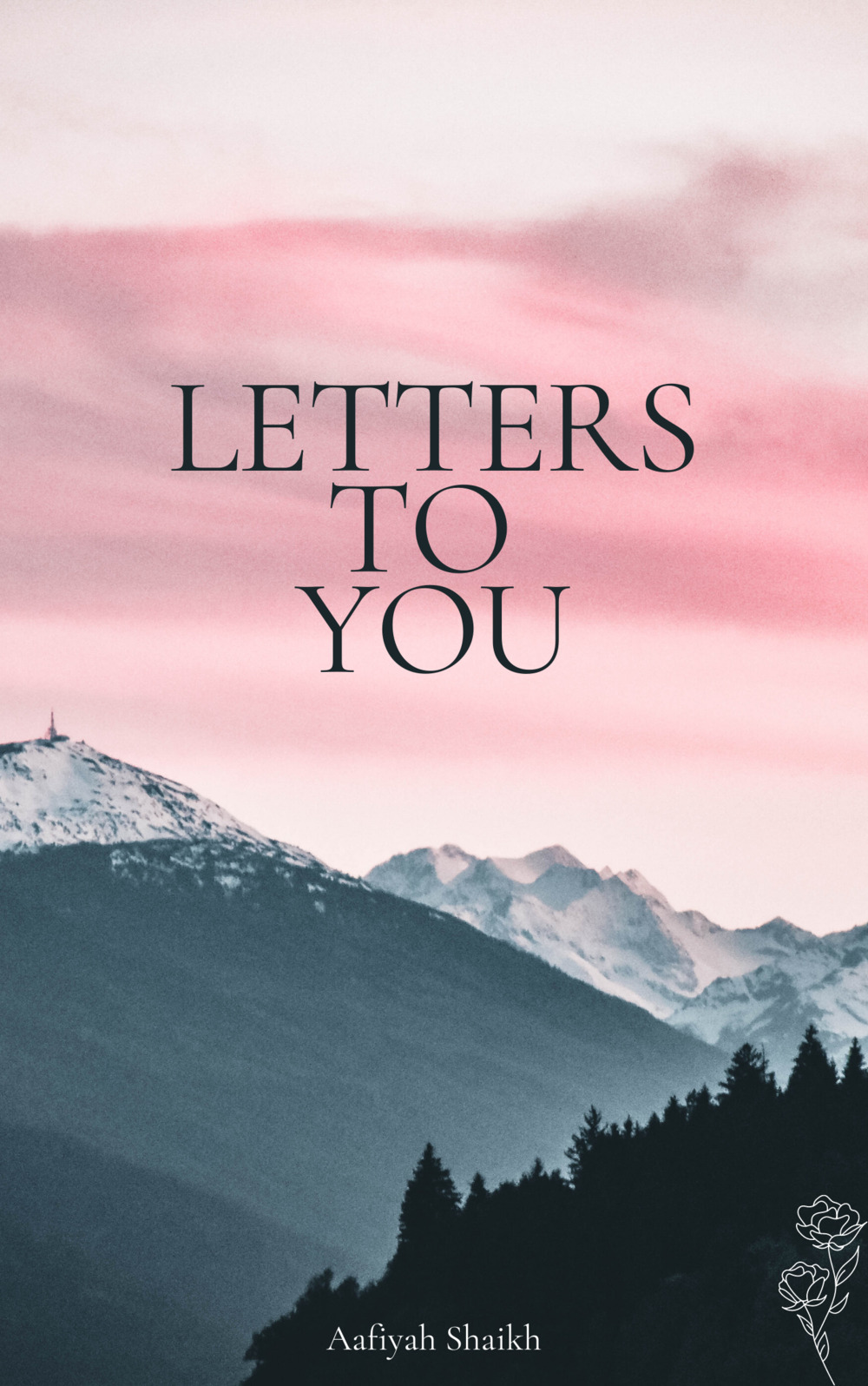 [Image description: Book cover of 'Letters To You' by Aafiyah Shaikh] Via Aafiyah