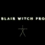 """Black background with white texts saying """"The Blair Witch Project"""""""