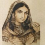 [Image Description: A portrait of Nur Jahan.] via Cultural India