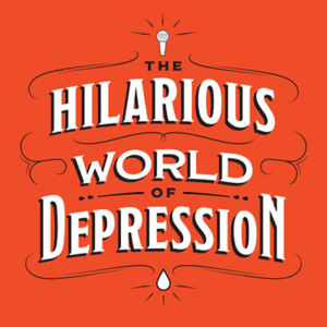 Logo for The Hilarious World of Depression.