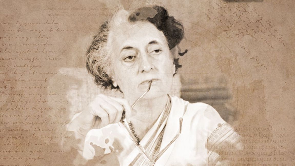 [Image Description: An image of former Indian Prime Minister, Indira Gandhi.] via The Quint