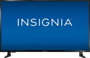 The all-new Insignia 43-inch smart TV.