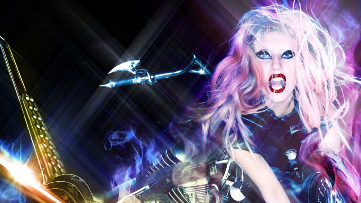 "Lady Gaga's ""Born This Way"" album artwork"