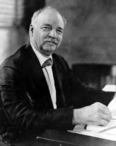 A photograph of Charles Curtis.