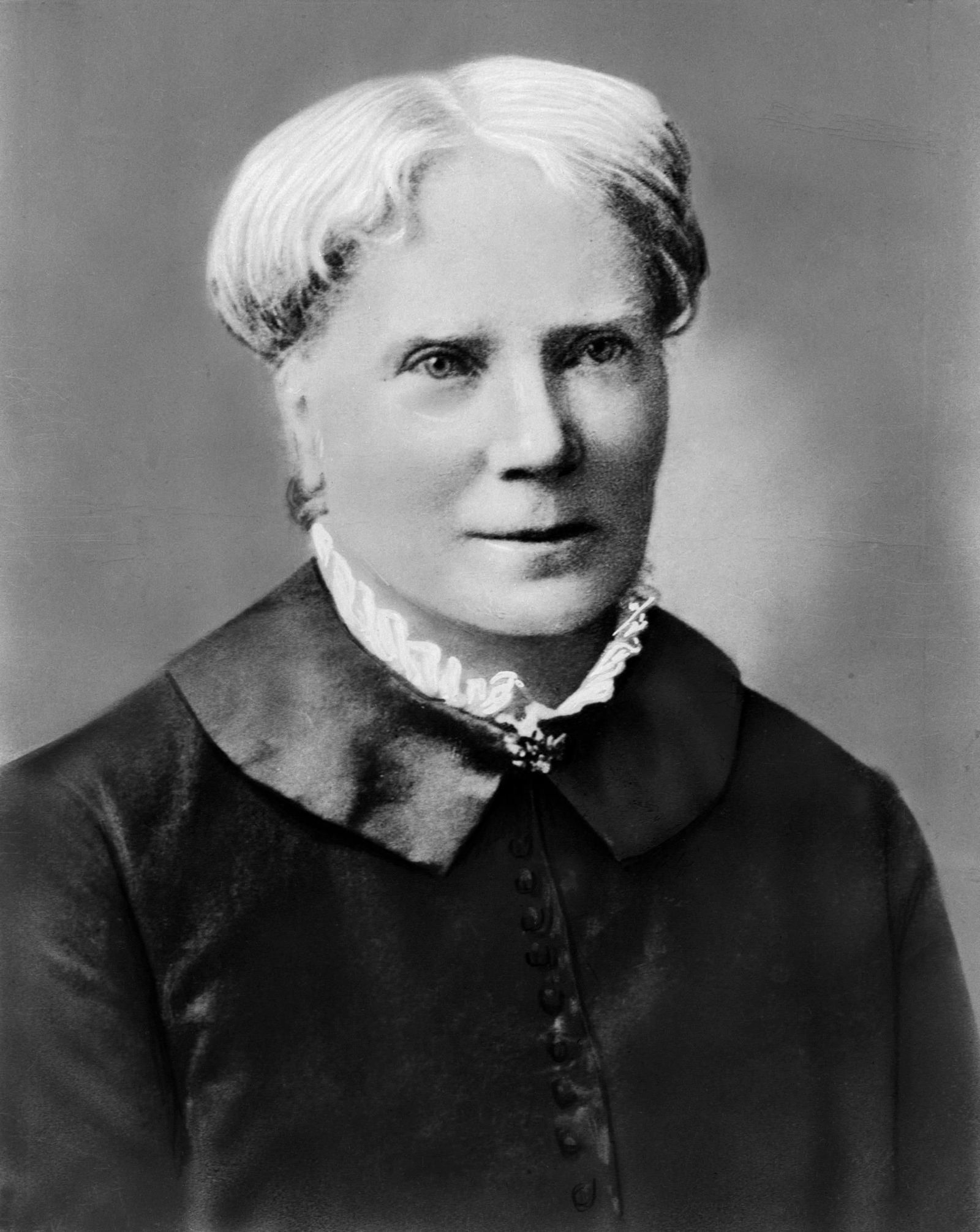 A picture of Elizabeth Blackwell.