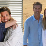 [Image Description: A collage of Derek and Meredith.]