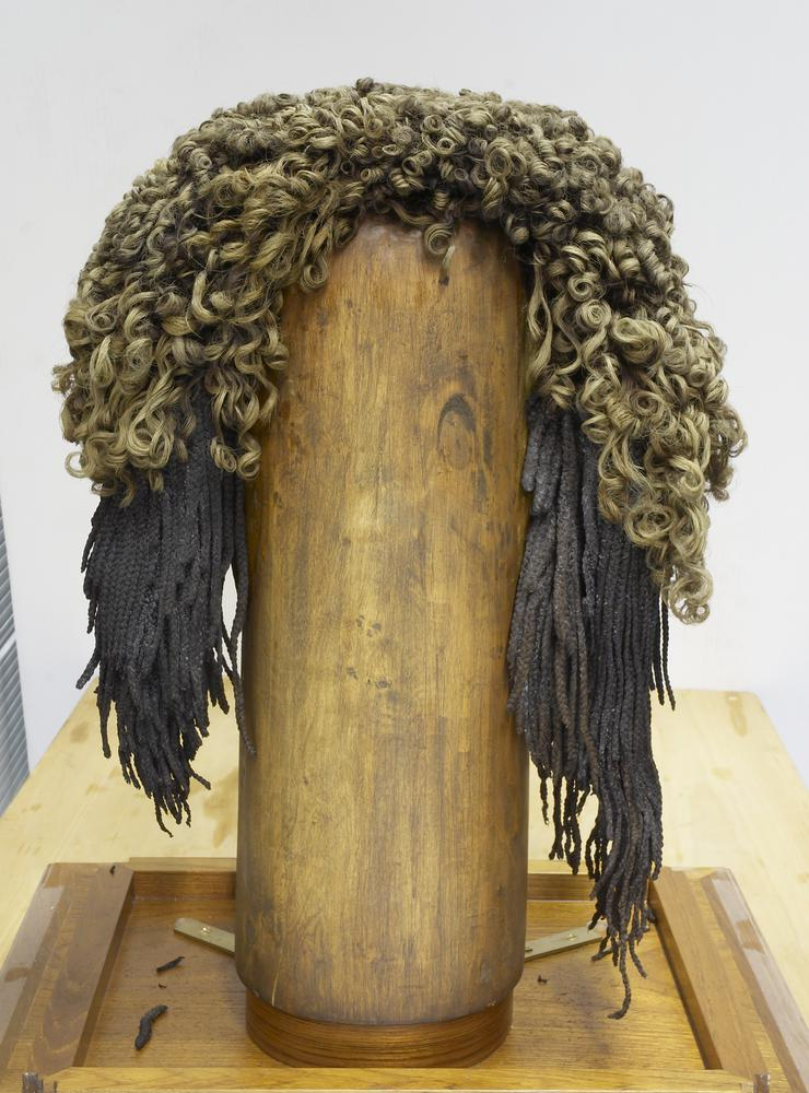 Ancient Egyptian wig.