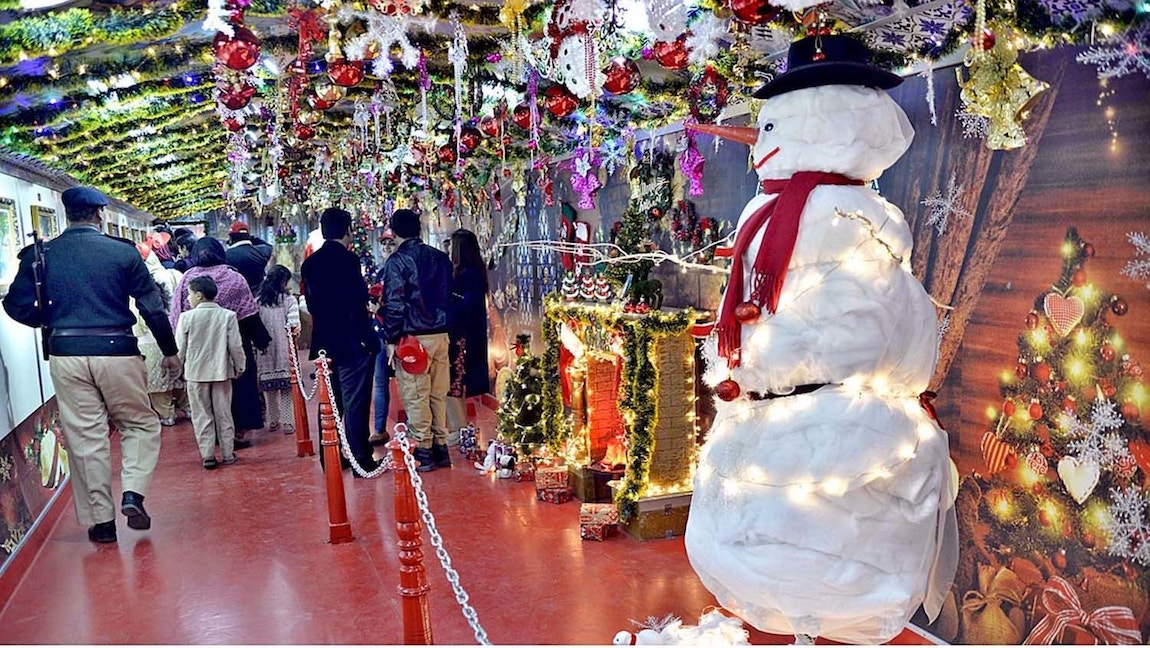 Pakistan seems to have embraced Christmas but not Christians